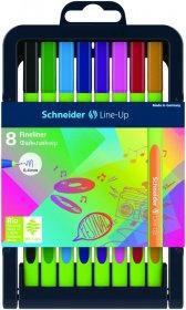 Cienkopis Schneider Line-Up, 0.4mm, 8 sztuk, mix kolorów