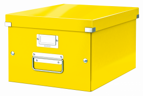 Pudło uniwersalne Leitz Click&Store Wow, A4, żółty
