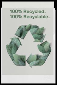 Ofertówki groszkowe Esselte Recycled Premium
