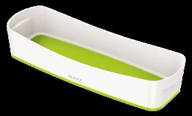 Pojemnik podłużny Leitz MyBox Wow, 307x105x55mm, biało-zielony