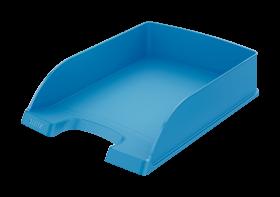 Półka na dokumenty Leitz Plus Standard, A4, plastikowa, jasnoniebieski