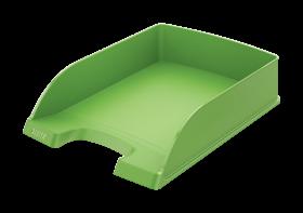 Półka na dokumenty Leitz Plus Standard, A4, plastikowa, jasnozielony