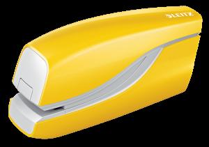 Zszywacz elektryczny Leitz NeXXt Wow do 10 kartek, metaliczny żółty