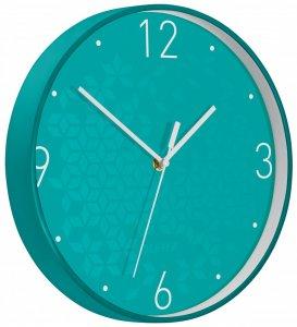 Zegar ścienny Leitz Wow, 29cm, turkusowy