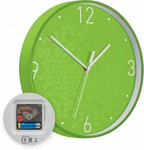 Zegar ścienny Leitz Wow, 29cm, zielony