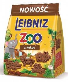 Herbatniki Leibniz Zoo Cacao, z kakao, 100g