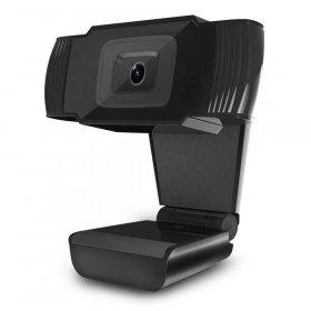 Kamera internetowa Powerton HD Webkamera PWCAM1, 720p, USB, czarny