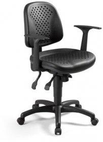 Krzesło obrotowe Labo TS02 GTP46 z mechanizmem ERGON-UP-BL GB, czarny