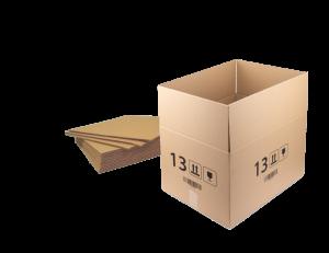 Zestaw 10x karton klapowy Ofix Economy, 600x400x350 mm, brązowy