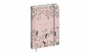 Kalendarz książkowy Interdruk 2021, A5, tygodniowy, 96 kartek, Ptaki