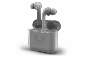 Słuchawki bluetooth FRESH'N REBEL Twins Tip, z mikrofonem, szary