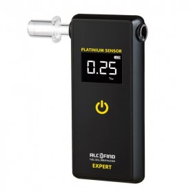 Alkomat AlcoFind Expert, 51x109x18mm, czarny