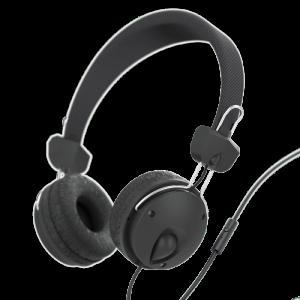 Słuchawki przewodowe z mikrofonem Hama Fun4Phone, czarny