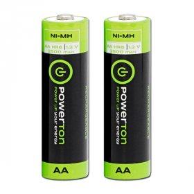 Akumulator Powerton, AA, 1.2V, 2500mAh, 2 sztuki