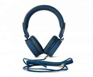 Słuchawki przewodowe z mikrofonem FRESH'N REBEL Caps, nauszne, granatowy