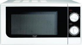 Kuchenka mikrofalowa Adler AD 6203, 20l, biały