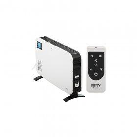 Grzejnik konwektorowy LCD Camry CR 7724, z pilotem, biało-czarny
