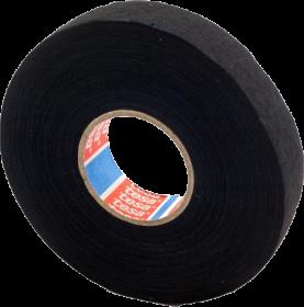 Taśma do wiązek kabli Tesa 51608, 19mmx25m, czarny
