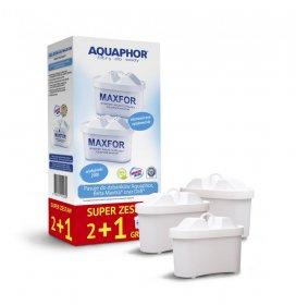 Wymienny wkład filtrujący Aquaphor Maxfor B100-25, 2+1