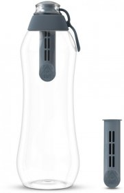 Butelka filtrująca Dafi 0.7l + 2 filtry, stalowy