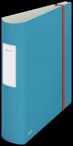 Segregator Leitz 180° Active Cosy, A4, szerokość grzbietu 80mm, do 500 kartek, niebieski