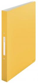 Segregator Leitz Cosy, A4, szerokość grzbietu 32mm, do 190 kartek, 2 ringi, żółty