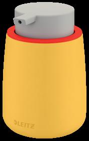 Dozownik do płynu do dezynfekcji Leitz Cosy, 85x133mm, żółty