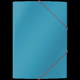 Teczka kartonowa z narożną gumką Leitz Cosy, A4, 5mm, niebieski