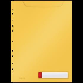 Koszulka o zwiększonej pojemności Leitz Cosy, A4, żółty