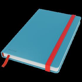 Notatnik w kratkę Leitz Cosy, A5, twarda oprawa, 80 kartek, niebieski