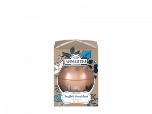 Herbata czarna liściasta Ahmad Tea Twilight Baubles English Breakfast, bombka, 30g