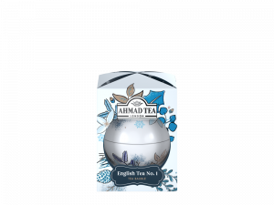 Herbata czarna liściasta Ahmad Tea Twilight Baubles English Tea No.1, bombka, 30g