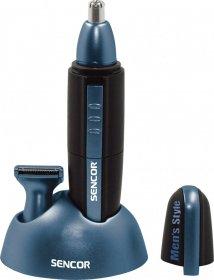 Trymer do nosa i uszu Sencor SNC 101BL, czarno-niebieski
