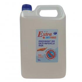 Płyn do dezynfekcji rąk 4U, 70% alk.,  5l (c)
