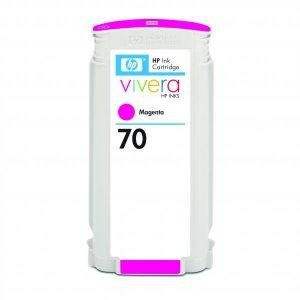 Tusz HP 70 (C9453A), 130ml, magenta (purpurowy)