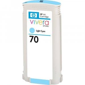 Tusz HP 70 (C9390A), 130ml, light cyan (jasny błękitny)