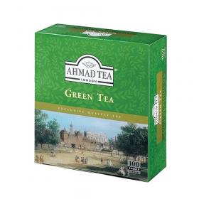 Herbata zielona w torebkach Ahmad Green Tea, 100 sztuk x 2g
