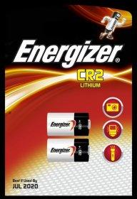 Bateria litowa Energizer Photo, CR2, 2 sztuki