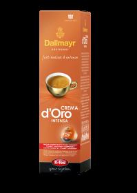 Kawa w kapsułkach Dallmayr Crema D´Oro Intense UTZ, 10 sztuk,  78g