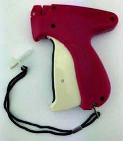 Zapinarka pistoletowa (metkownica igłowa) F/T , cienka igła, różowy