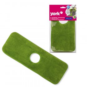 Mop obrotowy płaski York Special, końcówka, zielony