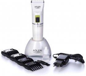 Maszynka do włosów Adler AD 2827, akumulatorowa, biały