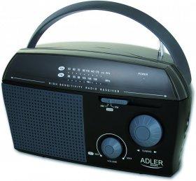 Radio przenośne Adler AD 1119, czarny