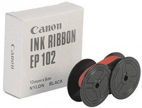 Taśma do kalkulatora Canon EP-102, 13x6mm, 1 sztuka, czerwono-czarny