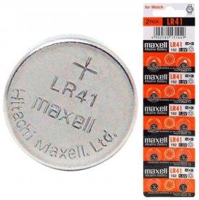Bateria alkaliczna Maxell, LR41, AG3, 10 sztuk