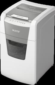 Niszczarka automatyczna Leitz IQ Office 150, konfetti 4x28mm, 150 kartek, P-4 DIN, biały