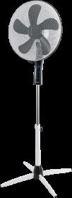 Wentylator stojący Blaupunkt ASF701, z wyświetlaczem, średnica 40cm, biało-czarny