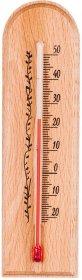 Termometr pokojowy Browin, zawieszany, 15x4cm, brązowy