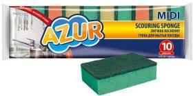 Zmywak kuchenny Azur Midi, 5x8x2.5cm, 10 sztuk, mix kolorów