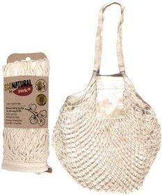 Torba na zakupy Eco Natural by York, bawełniane, 1 sztuka, kremowy